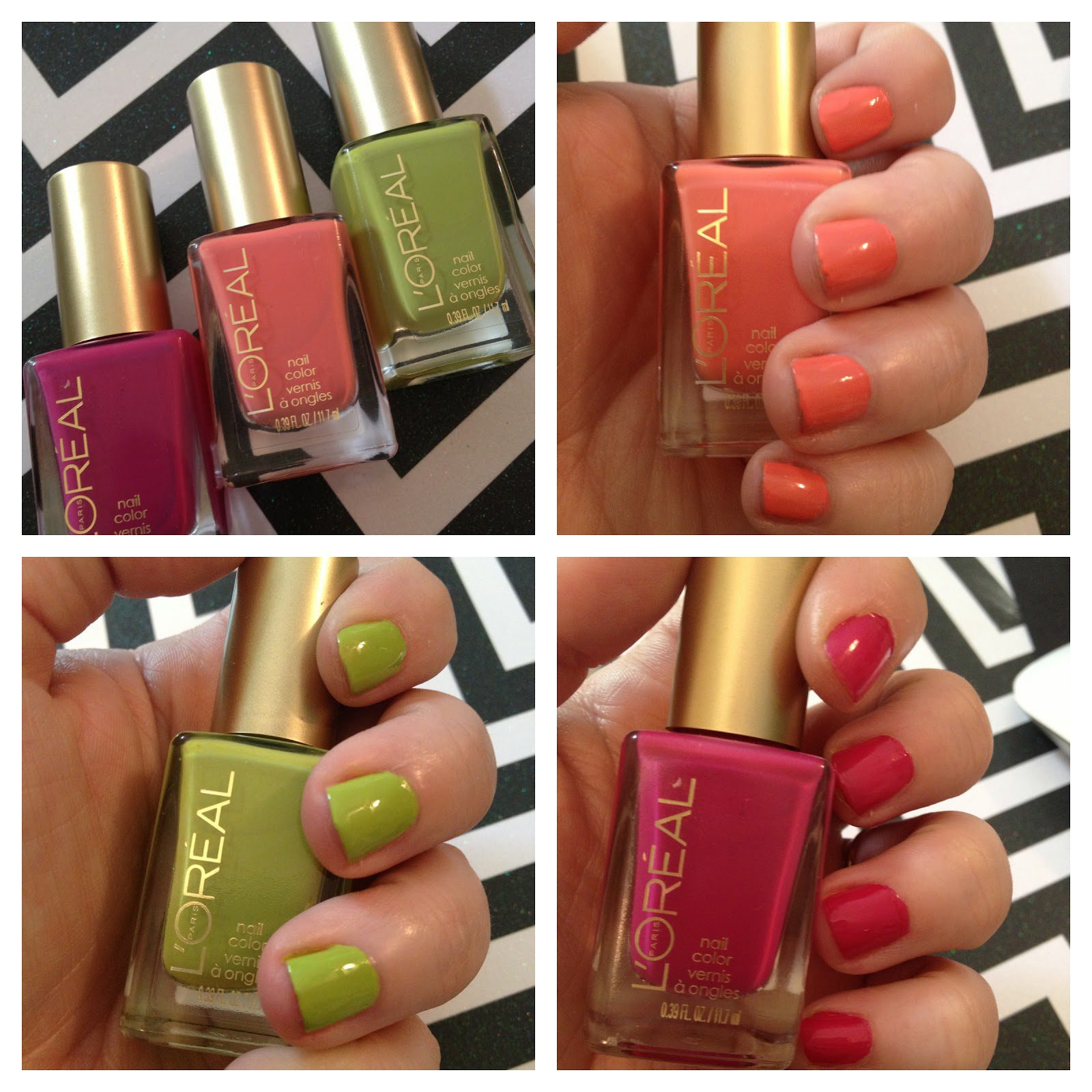 Get Spring Ready Nails With L Oreal Paris Colour Riche Nail Collection