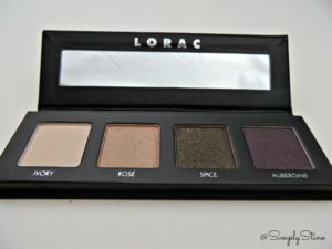 Gorgeous palette for Fall. Very creamy and pigmented