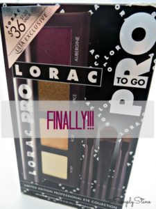 LORAC PRO TO GO COLLECTION