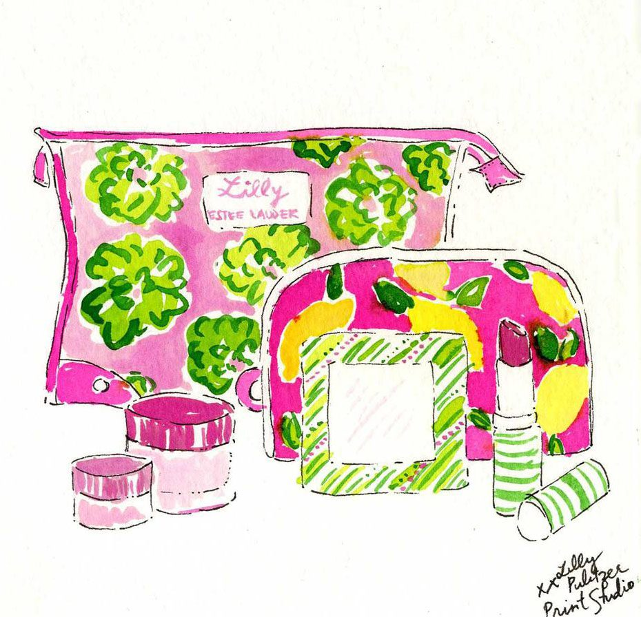 Lilly Pulitzer and Estee Lauder Gift With Purchase | Simply Stine