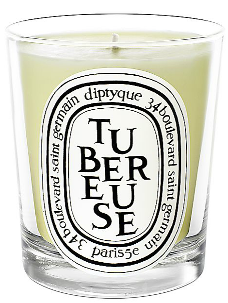 Source:Saks Fifth Avenue Diptyque Tuberose Candle ($60.00)