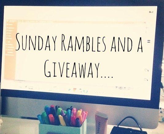 SundayRambles