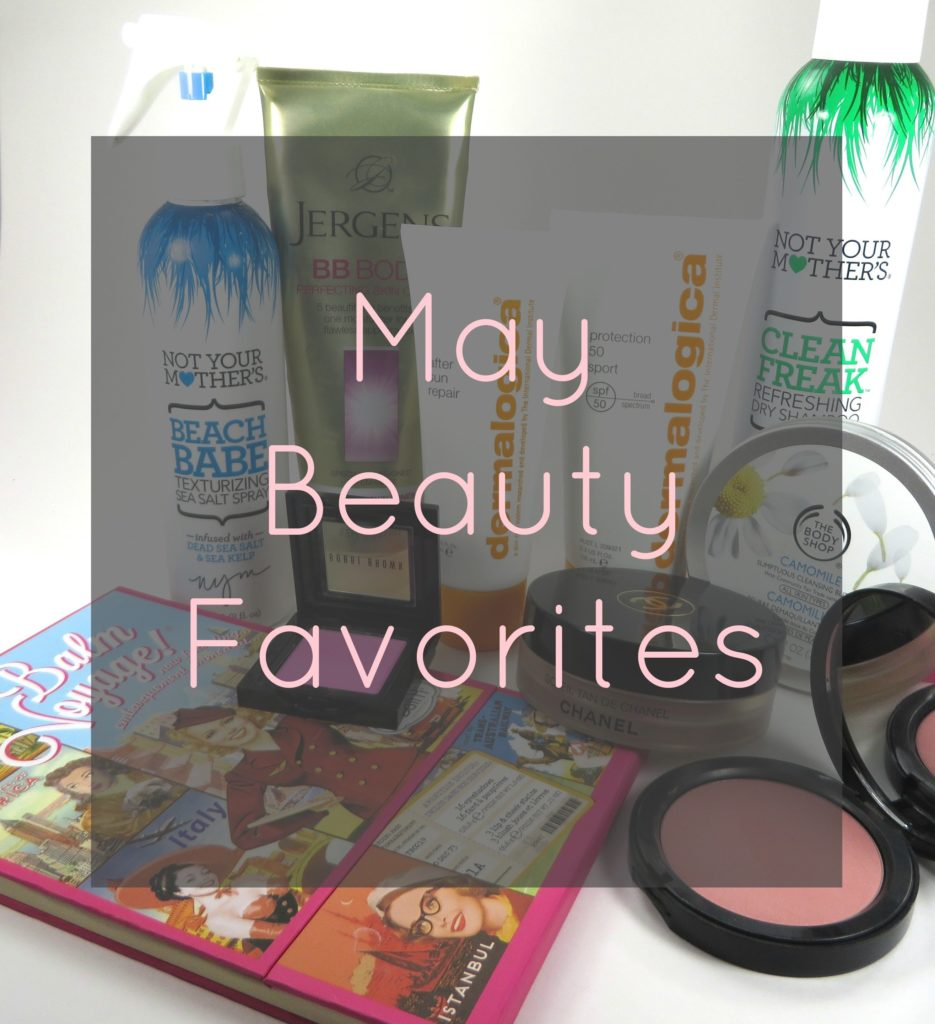 May Beauty Favorites
