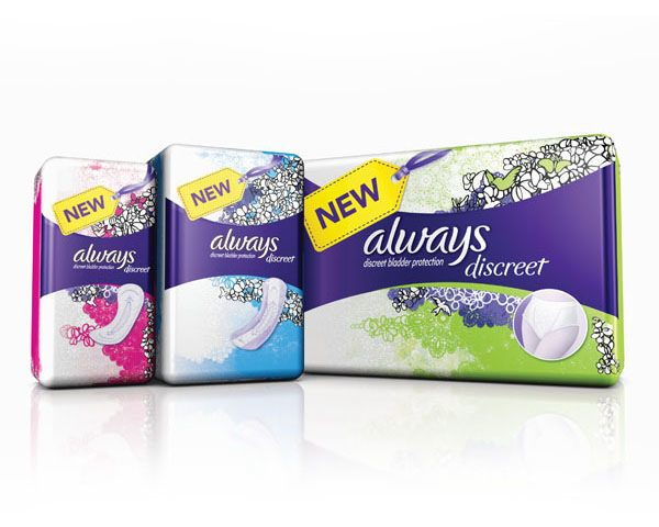 P&G_ Always Discreet Product Line-Up
