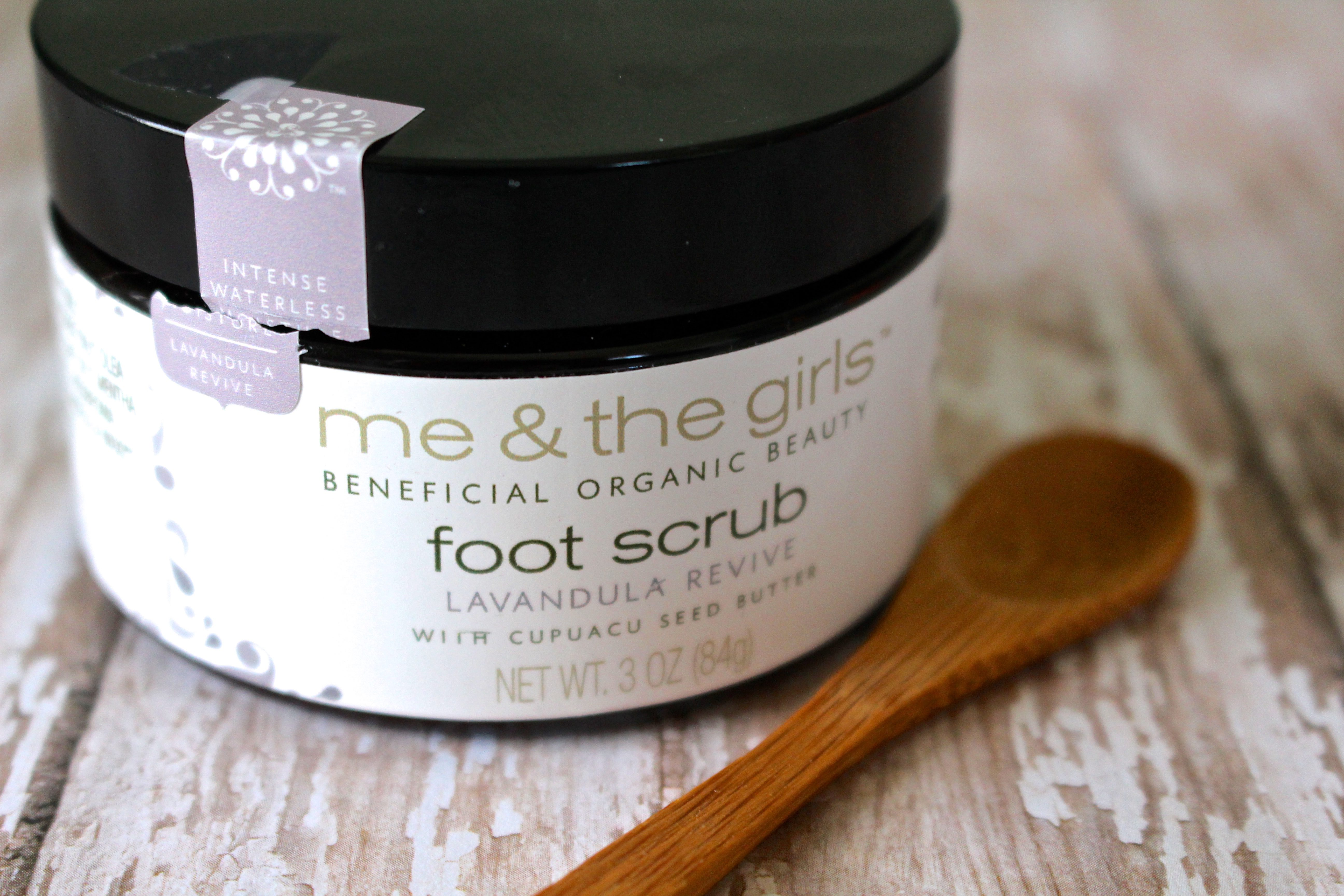 Me & The Girls Lavandula Revive Foot Scrub