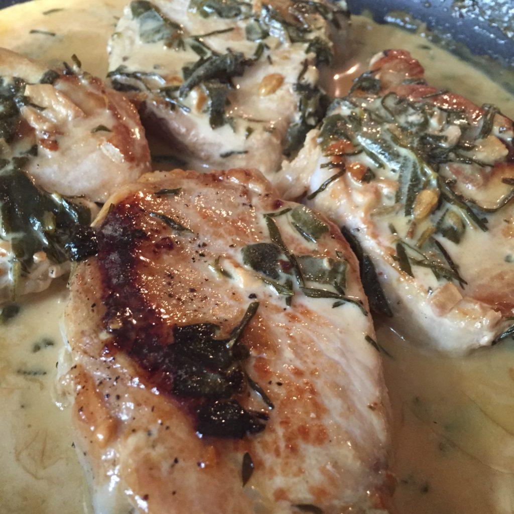 Rosemary and Sage Pork Chops