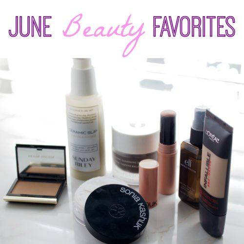 June Beauty Favorites