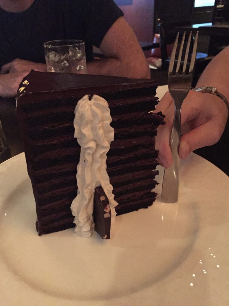 23 Layer Cake Michael Jordan's Steak House Chicago