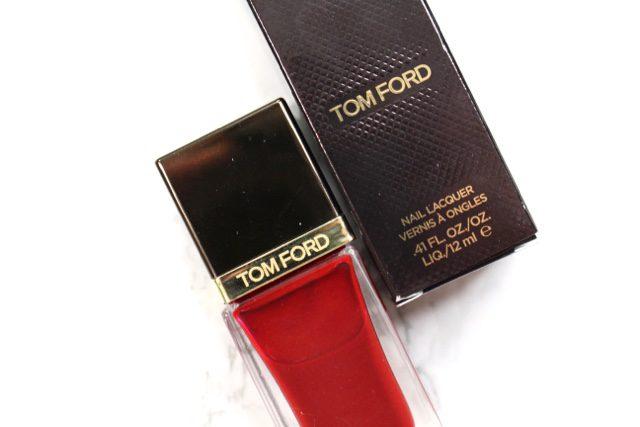 Tom Ford Smoke Red Nail Polish. Retails for $35.00