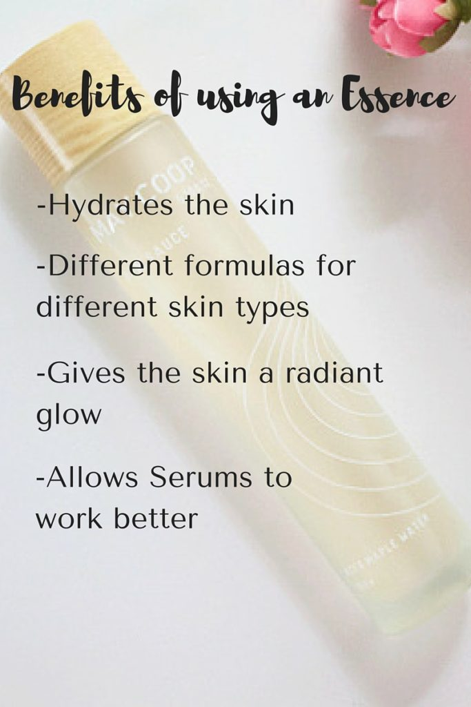 Benefits of using an Essence
