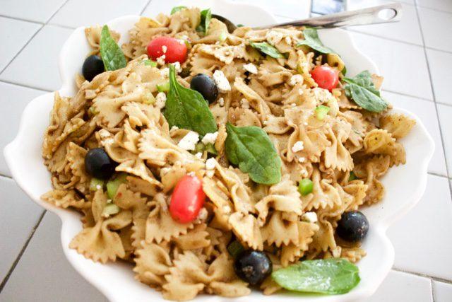 Behind the Recipe: Balsamic Pasta Salad