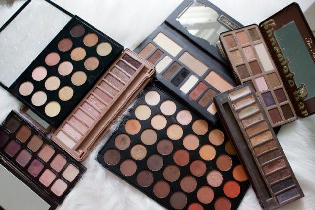 Favorite Eyeshadow Palettes