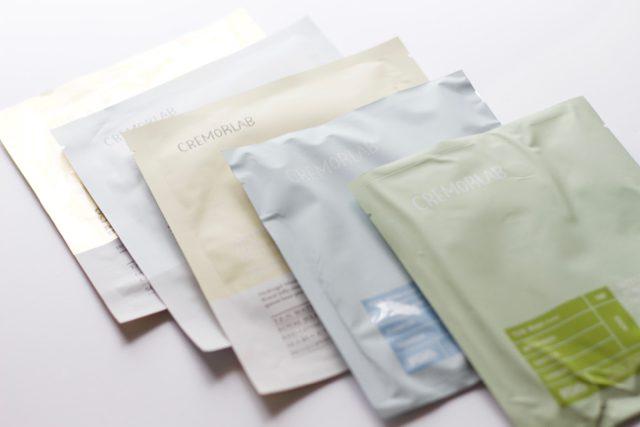 Cremorlab Sheet Masks