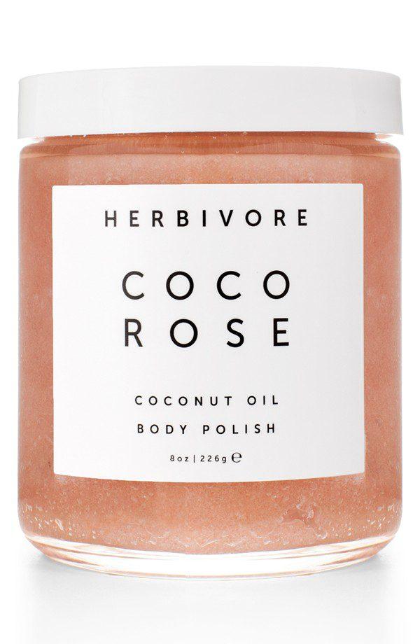 Herbivore Coco Rose Coconut Oil Body Polish, $36