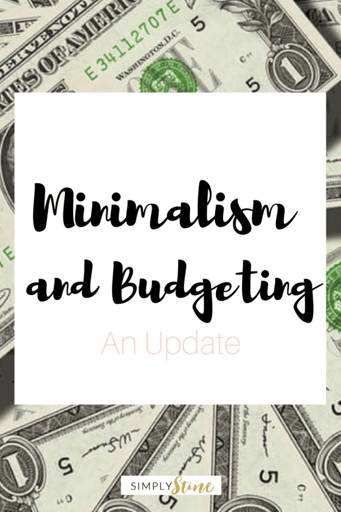 Minimalism and Budgeting