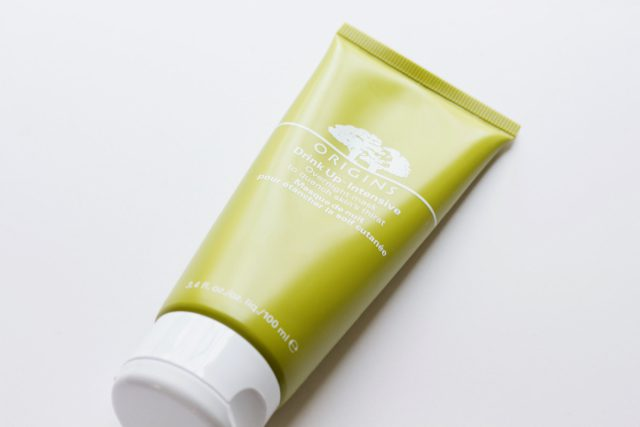 My Favorite Skincare Masks: Origins Drink-Up Intensive