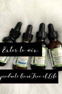Tree of Life Beauty Product Giveaway