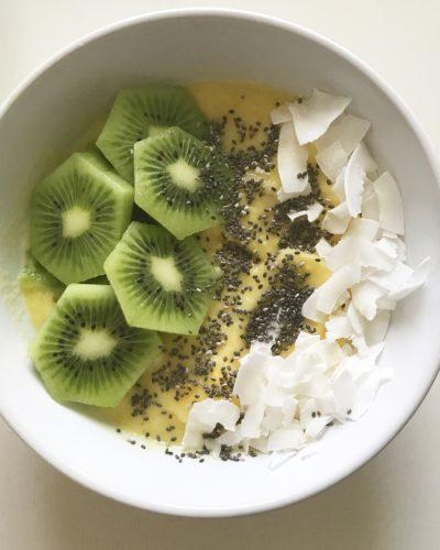 Mango Pineapple Smoothie Bowl Recipe