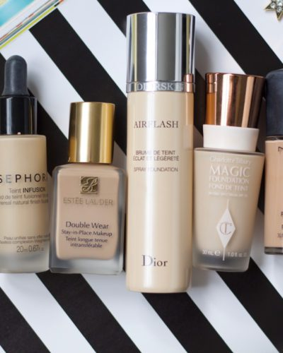 Why I Wear Different Foundations