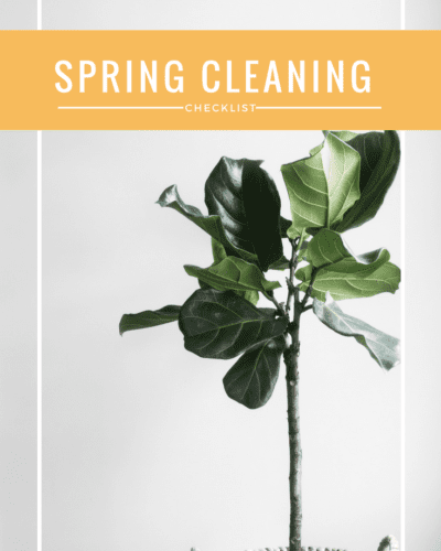 My Favorite Ways To Do Some Spring Cleaning