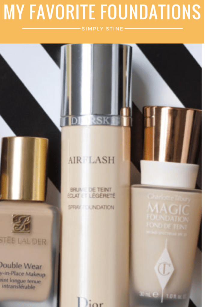 My Favorite Foundations | Simply Stine