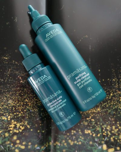 Aveda's New Pramasana Purifying Scalp Treatment and Cleanser
