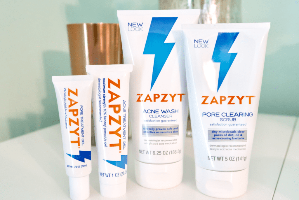 Treat Your Adult Acne With Zapzyt Simply Stine