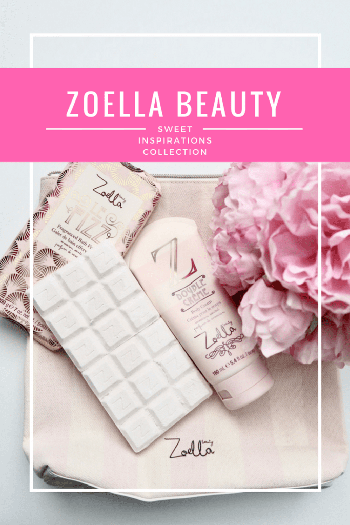 Zoella Beauty Sweet Inspirations Collection | Sweet and playful macaroon scented products and several makeup and skincare bags to choose from! | www.simplystine.com