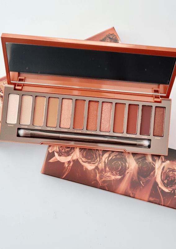 Urban Decay Naked Heat Palette | 12 amber-hued neutral shades that makes a super wearable, but fun palette! | www.simplystine.com
