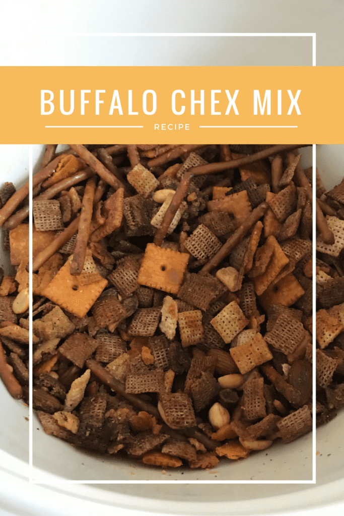 The best Buffalo Chex Mix recipe that is sure to impress even the pickiest snackers!