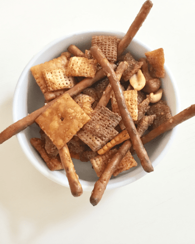 The Best Buffalo Chex Mix Recipe