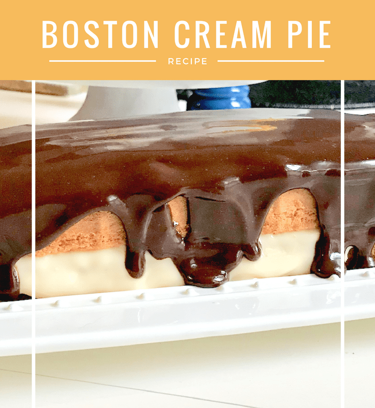 The Easiest Dessert You'll Ever Make: My Take On Boston Cream Pie