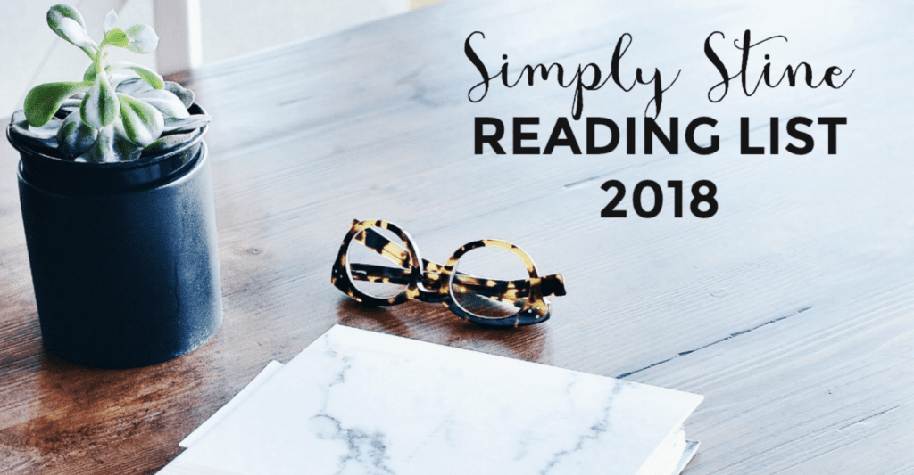 Simply Stine Reading List 2018