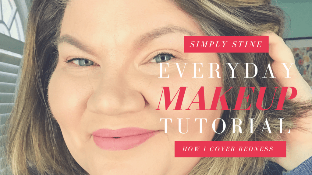 Basic Everyday Makeup Tutorial To Cover Redness