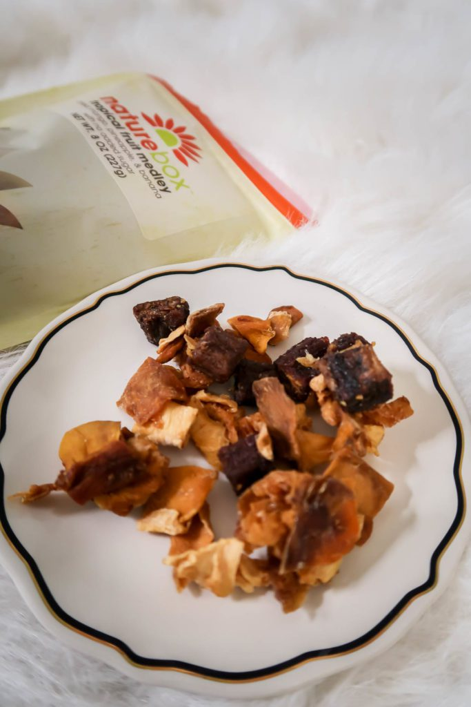 Healthy Snacks from NatureBox: Tropical Fruit Medley