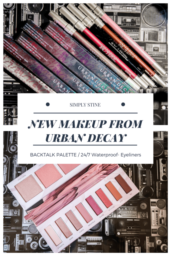 New Makeup Releases From Urban Decay: Backtalk Eye and Cheek Palette and also the 24/7 Waterproof Eyeliners