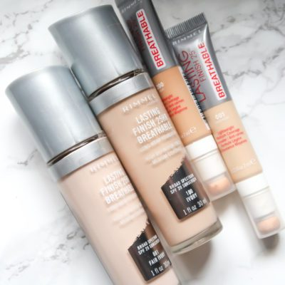 Rimmel London Lasting Finish Breathable Foundation and Concealer