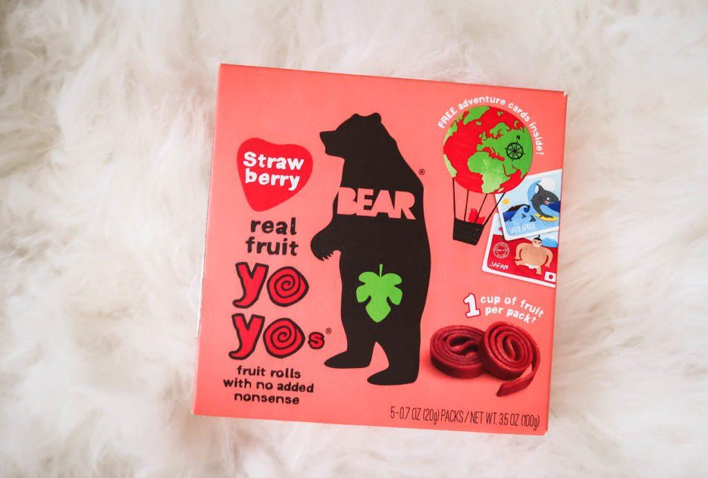 Healthy Snacks from NatureBox Strawberry Real Fruit Yo Yos