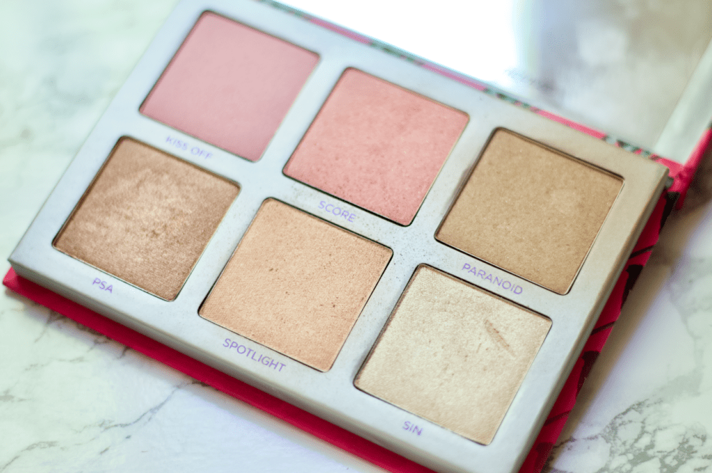Beauty Products For Spring | Urban Decay Sin Afterglow Palette
