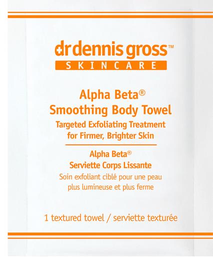 Dr. Dennis Gross Alpha Beta Smoothing Body Towel