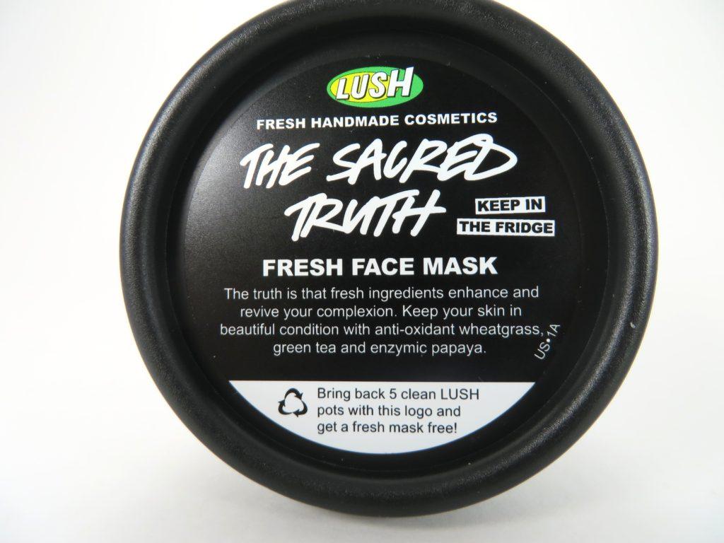 LUSH Fresh Face Mask The Sacred Truth