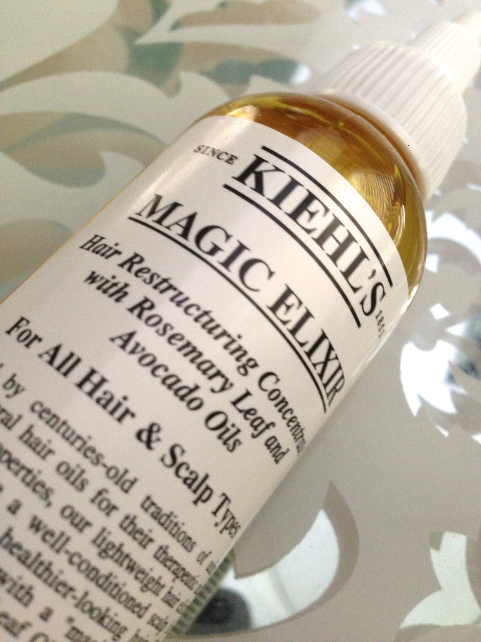 Kiehl's Magic Elixir Review | Simply Stine