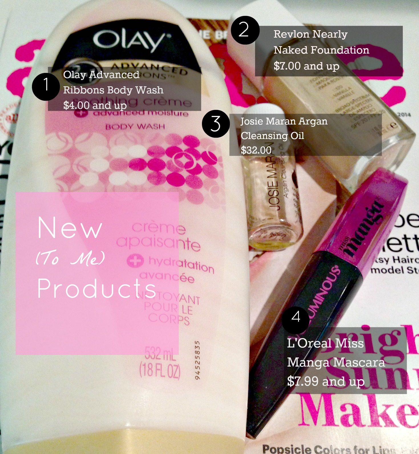 New (to me) Products….