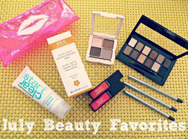 July Beauty Favorites