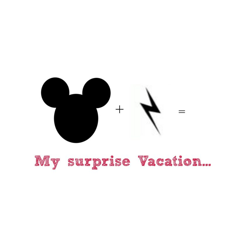 My surprise vacation ……