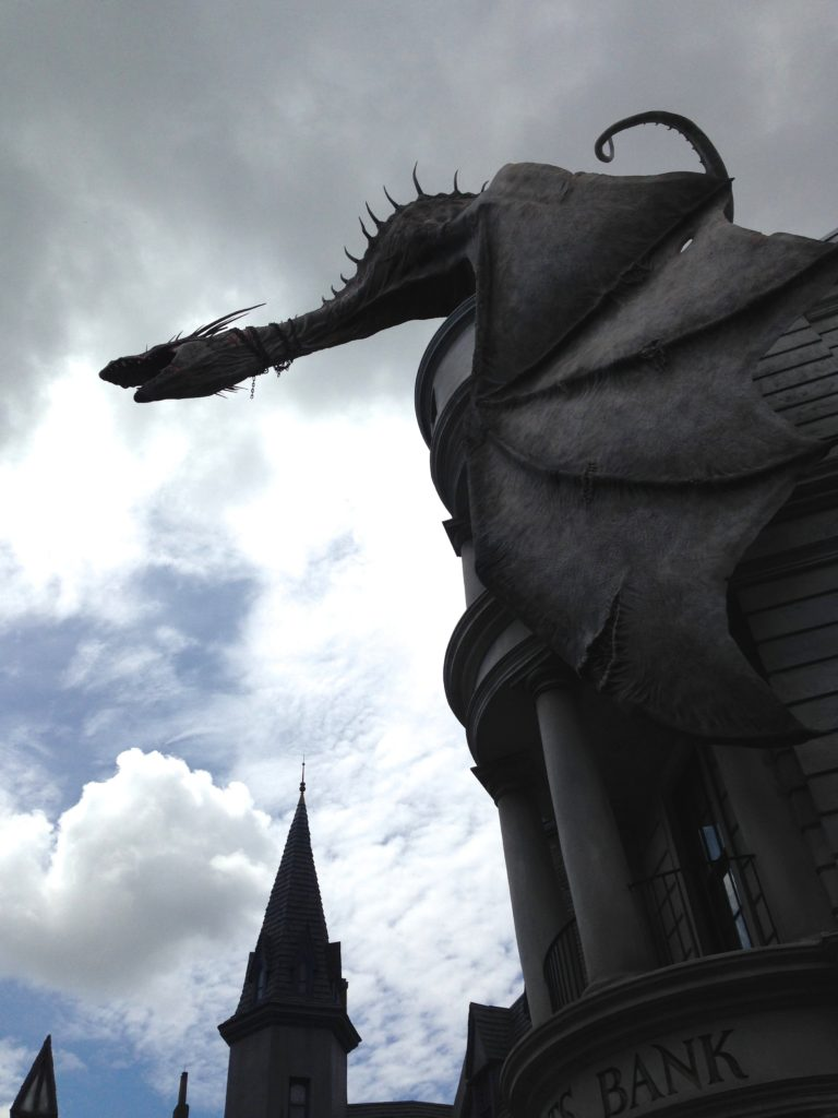 Diagon Alley Universal Studios 2014