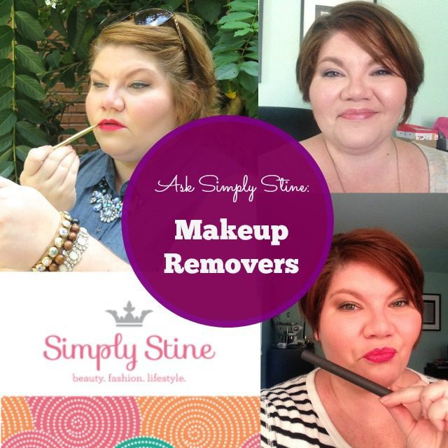 Ask Simply Stine: Makeup Removers