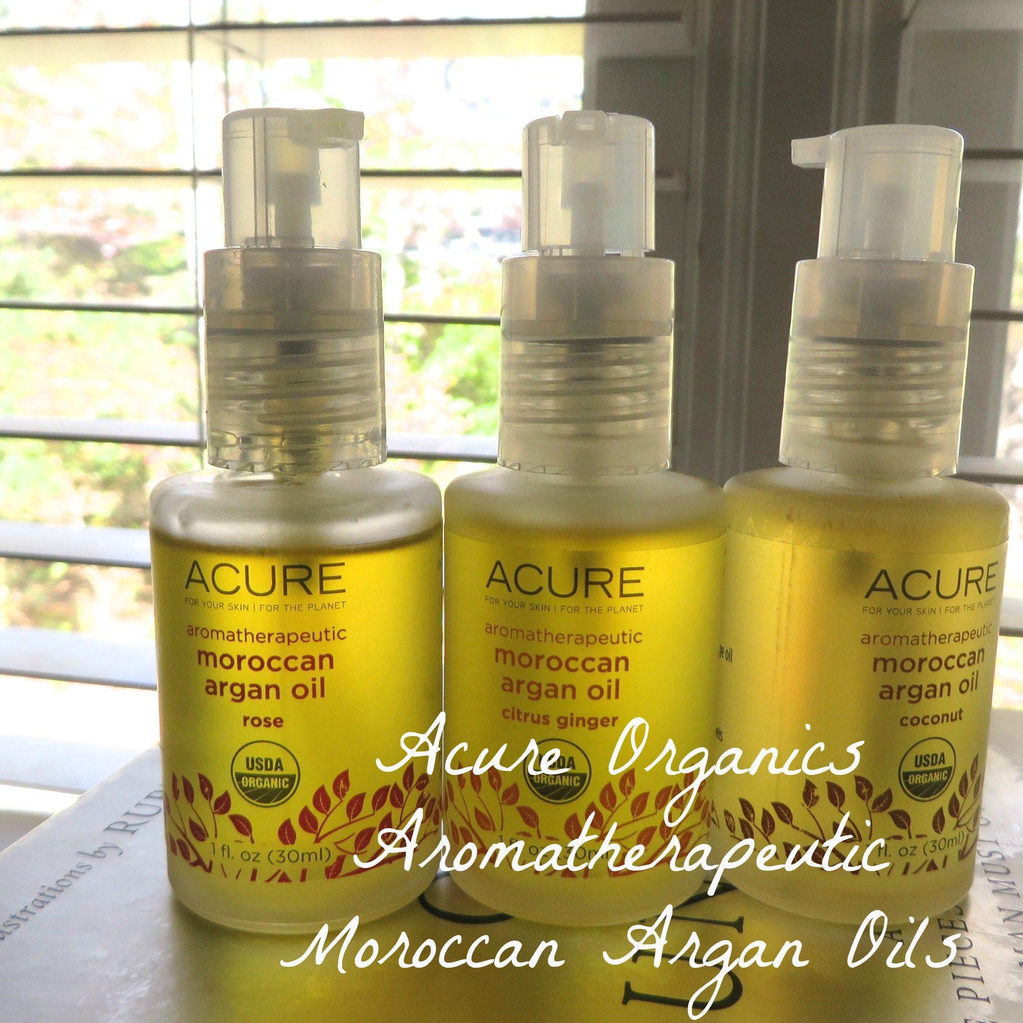 Acure Organics Aromatherapeutic Moroccan Argan Oils