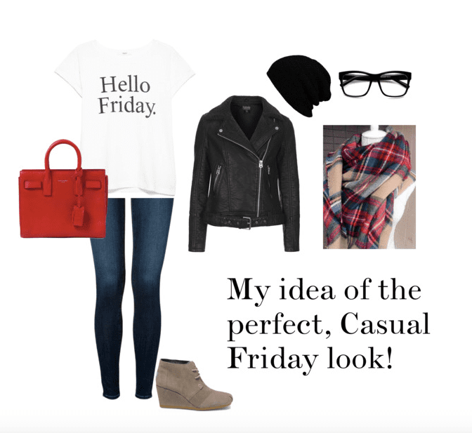 Surviving a casual Friday in cold temperatures