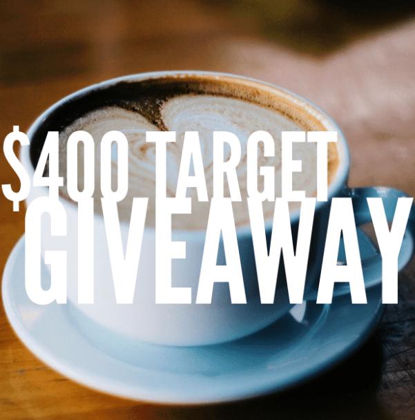 $400 Target Instagram Giveaway